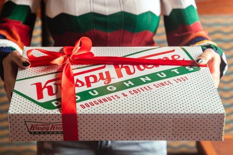 Krispy Kreme delivery